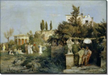Винный погреб в Риме - Бёклин, Арнольд