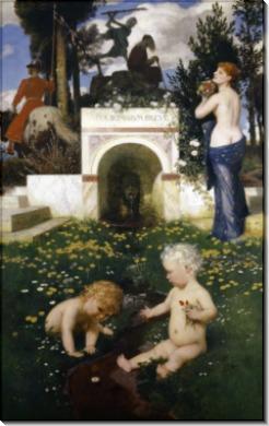 Vita somnium breve (Жизнь - это краткий сон) - Бёклин, Арнольд
