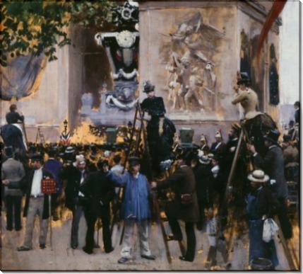 Похороны Виктора Гюго на площади Этуаль - Беро, Жан