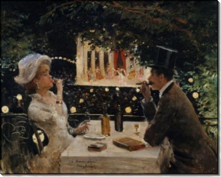 Ужин в Амбассадоре - Беро, Жан