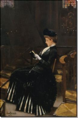 Женщина с молитвенником - Беро, Жан
