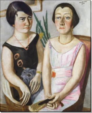 Двойной портрет - Бекман, Макс