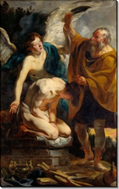 Жертвоприношение Исаака - Йорданс, Якоб