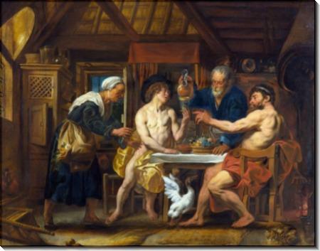 Юпитер и Меркурий - Йорданс, Якоб