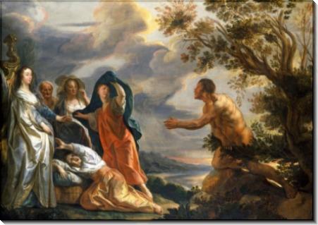 Одиссей и Навсикая - Йорданс, Якоб