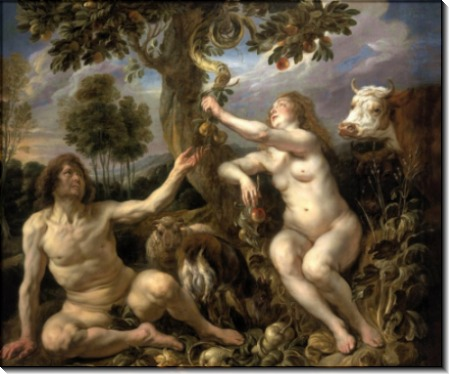 Адам и Ева - Йорданс, Якоб