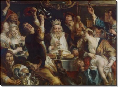 Король пьет - Йорданс, Якоб