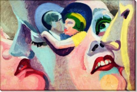 Поцелуй (Парижские любовники) - Делоне, Роберт