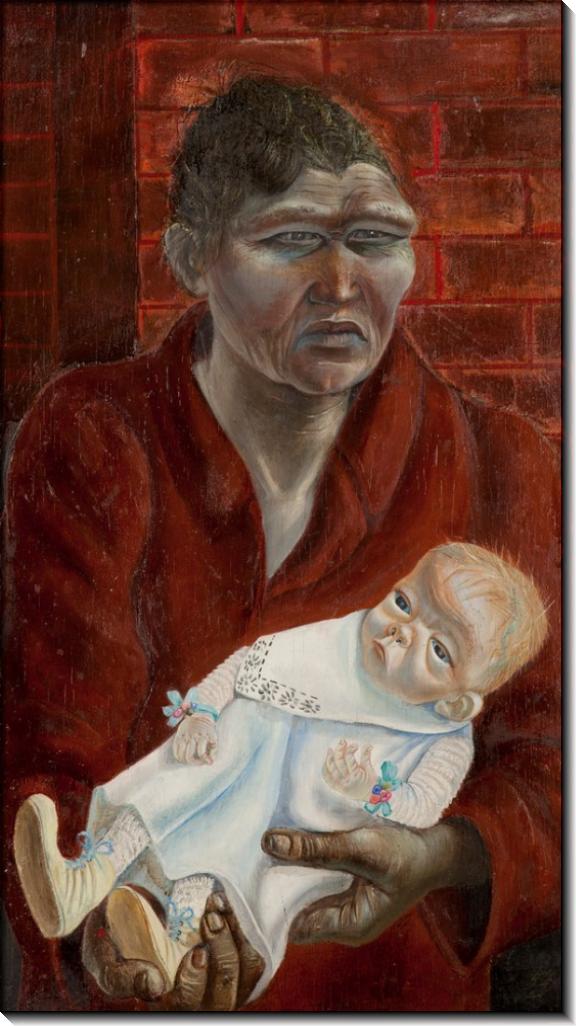 Мать с ребенком - Дикс, Отто
