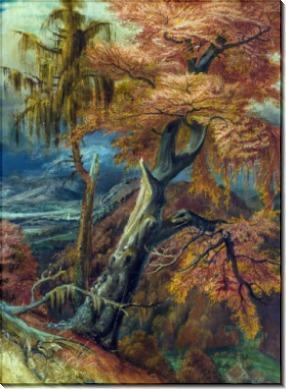 Разрушенное дерево - Дикс, Отто