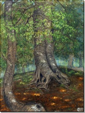 Лесной пейзаж - Дикс, Отто
