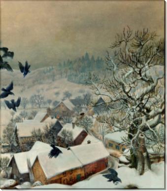 Рандегг в снегу и вороны - Дикс, Отто