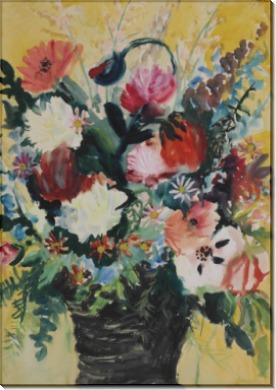 Цветы в вазе - Дикс, Отто