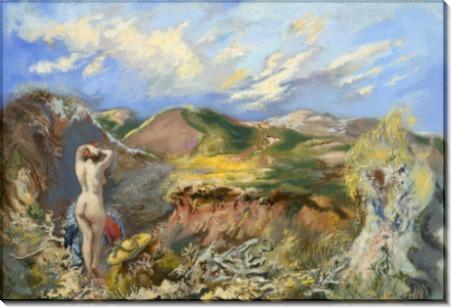 Женщина в дюнах - Грос, Георг