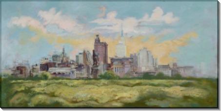 Панорама Далласа - Грос, Георг