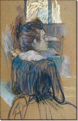 Женщина у окна - Тулуз-Лотрек, Анри де