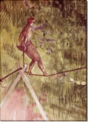 Акробат на канате - Тулуз-Лотрек, Анри де
