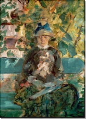Графиня де Тулуз-Лотрек, мать художника - Тулуз-Лотрек, Анри де