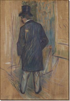 Месье Луи Паскаль, повернувшийся спиной - Тулуз-Лотрек, Анри де