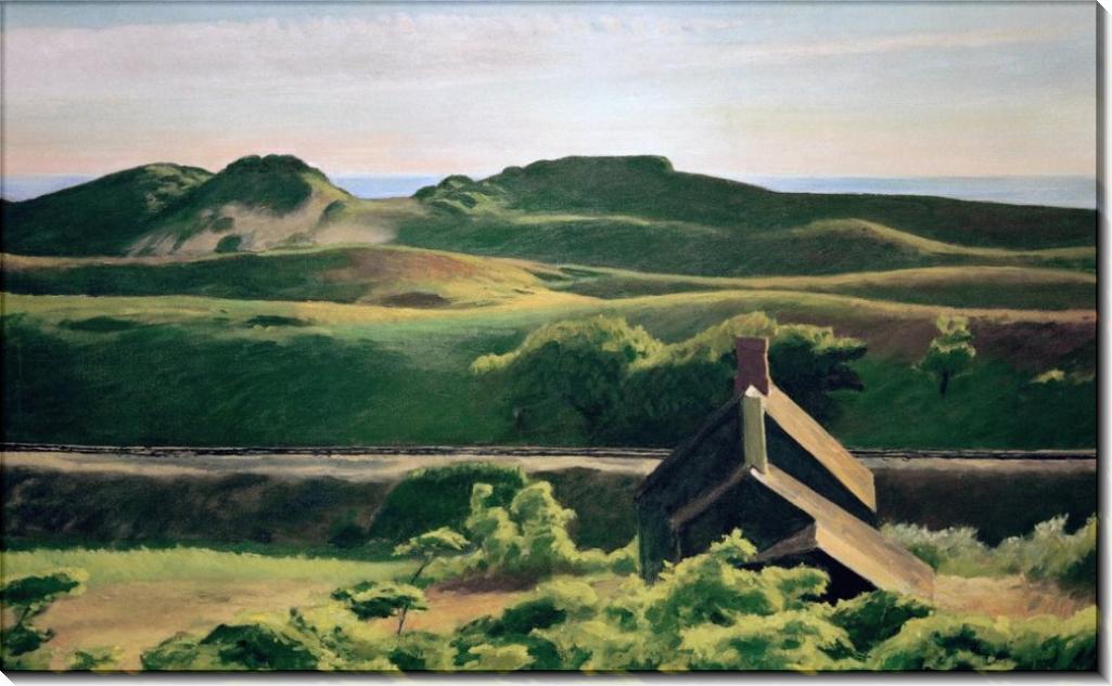 Холмы в Южном Труро - Хоппер, Эдвард