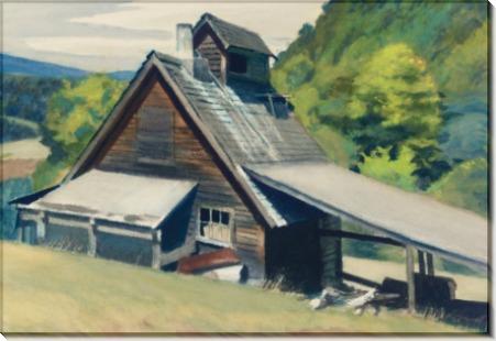 Сахарный дом в Вермонте - Хоппер, Эдвард