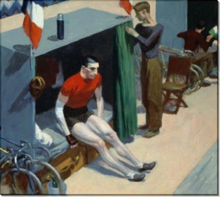 Французский шестидневный велосипедный марафон - Хоппер, Эдвард