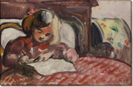 Ребенок, пишущий письмо - Вальта, Луи