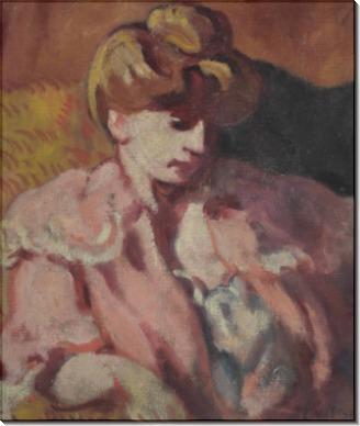 Портрет молодой дамы - Вальта, Луи