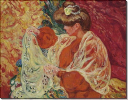 Сидящая женщина - Вальта, Луи