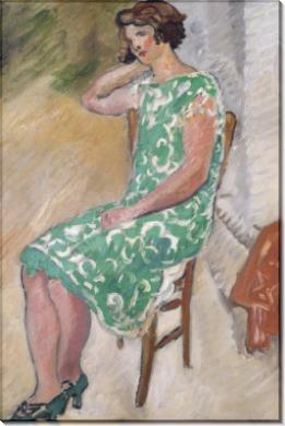 Женщина в зеленом платье - Вальта, Луи