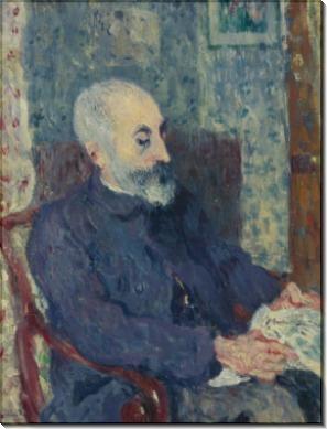 Месье Виктор Вальта, отец художника - Вальта, Луи