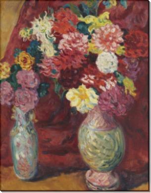 Две вазы с цветами - Вальта, Луи