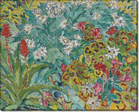 Клумба с цветами - Вальта, Луи