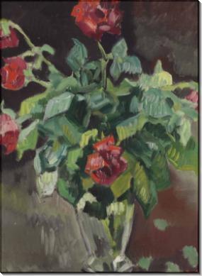 Розы в хрустальной вазе - Вальта, Луи