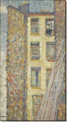 Вид из окна в Аньере - Вальта, Луи
