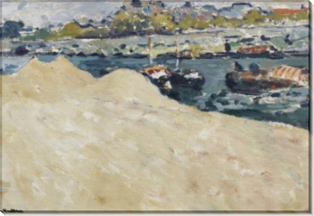 Песчаные карьеры на берегу Сены в Париже - Вальта, Луи