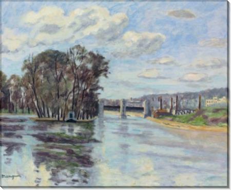 Плотина на Сене - Манген, Анри