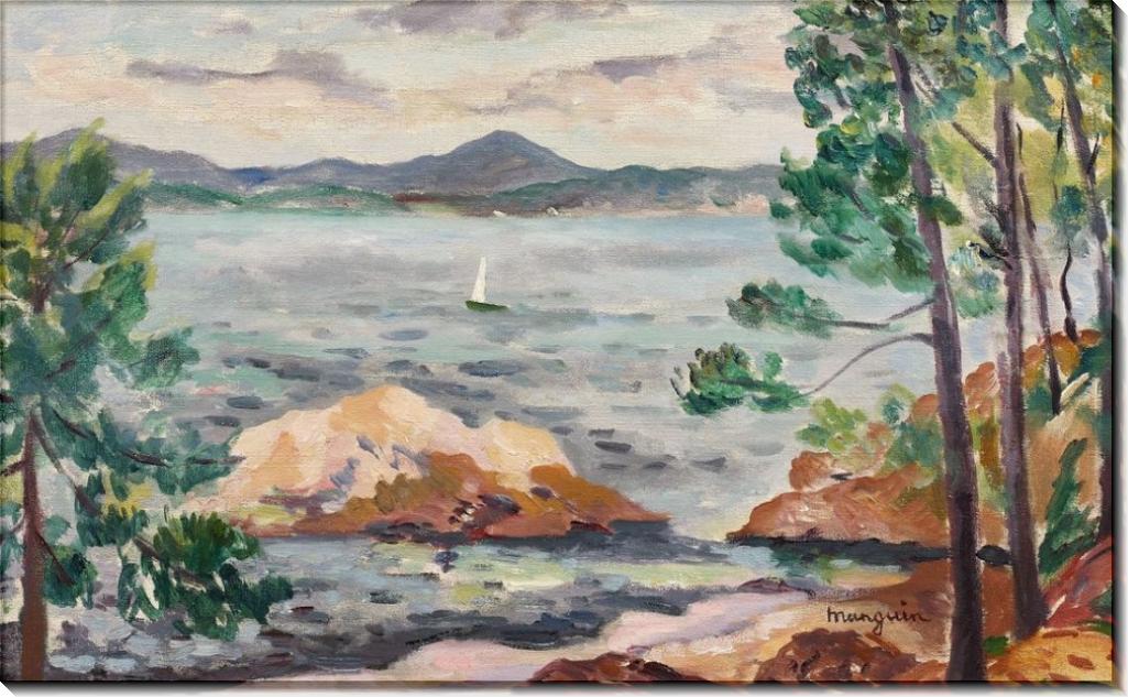 Залив в Сен-Тропе - Манген, Анри