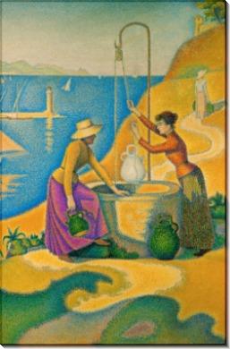 Женщины у колодца - Синьяк, Поль