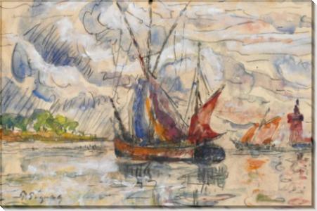 Рыбацкие лодки близ Ла Рошели - Синьяк, Поль