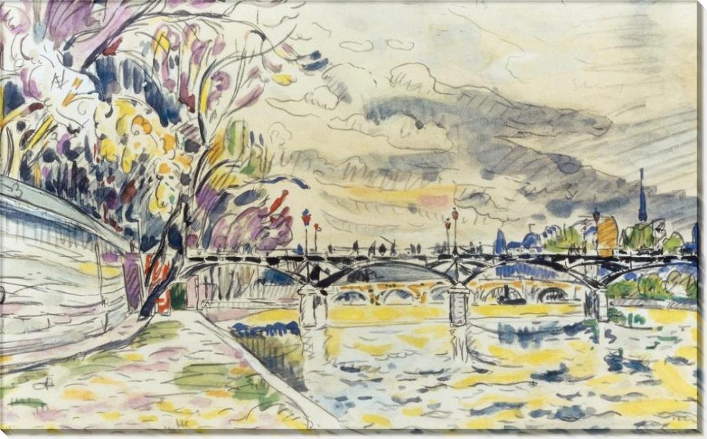 Новый мост в Париже - Синьяк, Поль