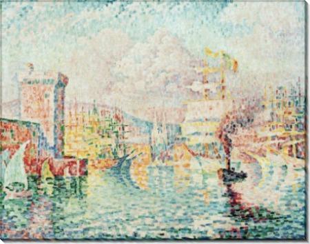 Порт в Марселе - Синьяк, Поль
