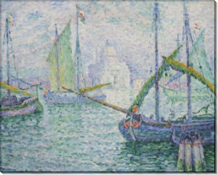 Пейзаж в Венеции - Синьяк, Поль