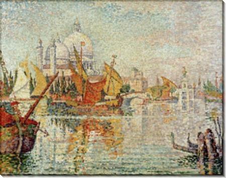 Парусные лодки на канале Джудекка, Венеция - Синьяк, Поль
