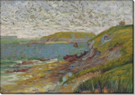 Пейзаж в Сен-Бриаке, остров Аго - Синьяк, Поль