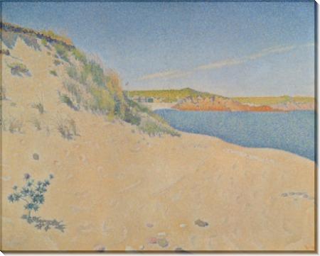Пляж в Сен-Бриаке - Синьяк, Поль