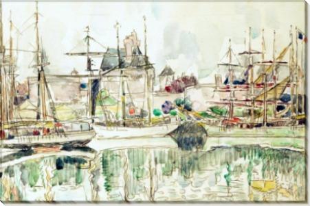 Порт в Сен-Мало - Синьяк, Поль