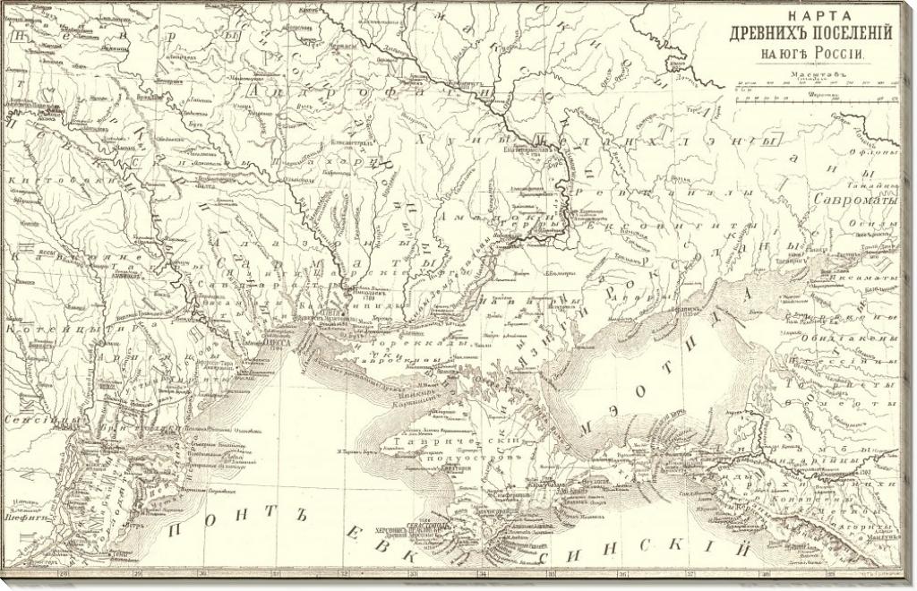 Древние поселения в Керчи.