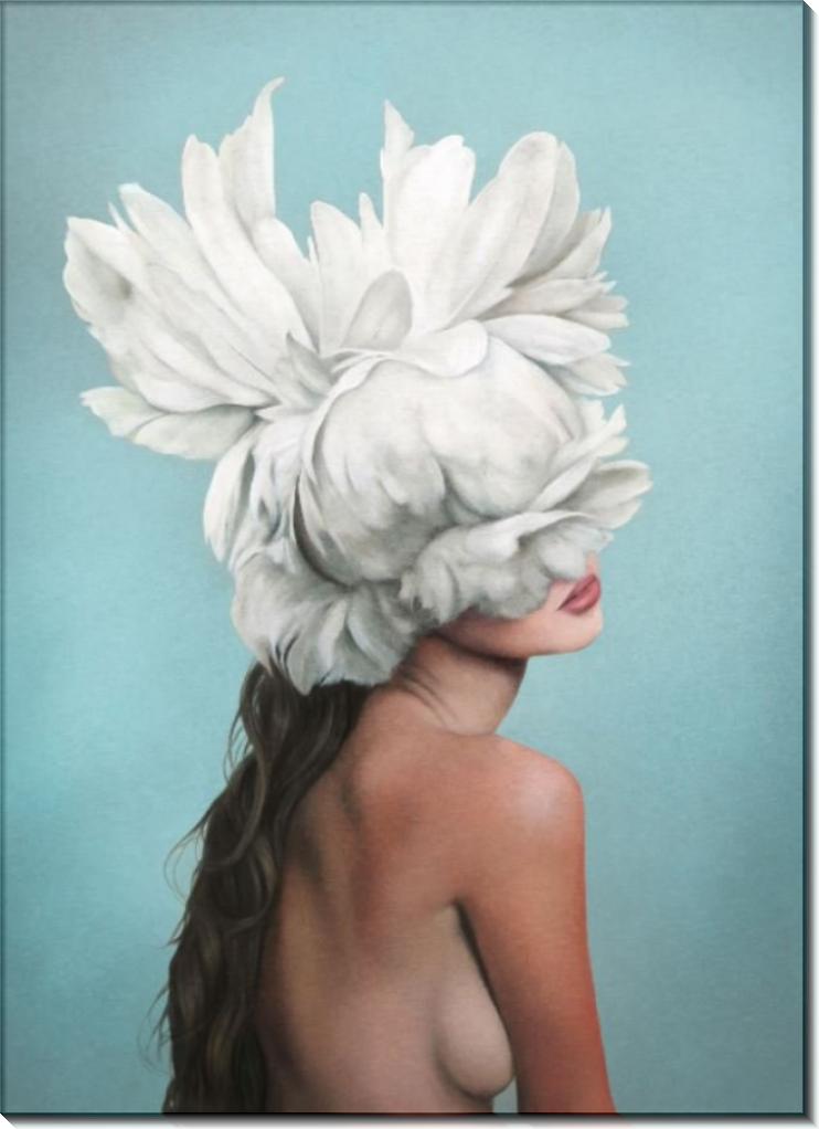 Девушка с перьями - Копии Эми Джадд