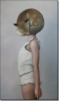 Девушка с лисой - Копии Эми Джадд